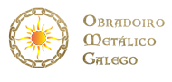 Obradoiro Metálico Galego Logo